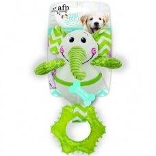 AFP Little Buddy Goofy Elephant žaislas šuniukams