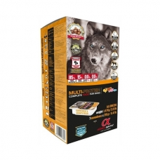 Alpha Spirit Multi Protein sausas maistas suaugusiems šunims