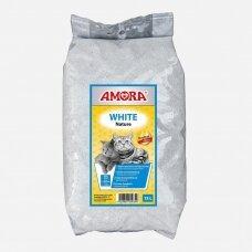 AMORA COMPACT WHITE CAT LITTER 15 L sušokantis kraikas katėms