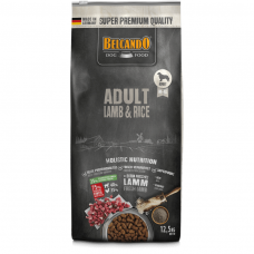 BELCANDO®  Adult Lamb & Rice sausas maistas su ėriena ir ryžiais suaugusiems šunims