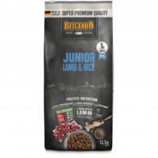 BELCANDO® JUNIOR LAMB & RICE sausas maistas su ėriena ir ryžiais augantiems šuniukams