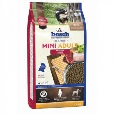 Bosch HPC Mini Adult  Lamb & Rice sausas maistas su ėriena ir ryžiais mažų veislių jautriems šunims