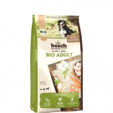 BOSCH HPC  BIO ADULT maistas šunims su ekologiška vištiena