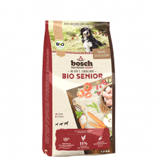 BOSCH HPC BIO SENIOR sausas maistas vyresnio amžiaus šunims su ekologiška vištiena