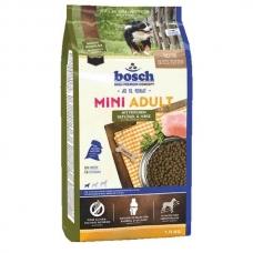 Bosch HPC Mini Adult Poultry & Millet sausas maistas mažų veislių suaugusiems šunims