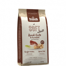 Bosch Soft Adult  Farm Duck & Potato sausas begrūdis maistas su antiena ir bulvėmis suaugusiems šunims