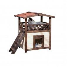 CAT HOUSE 4-SEASONS DELUXE HEATABLE namelis katėms