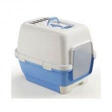 Kerbl  CAT LITTER TRAY CATHY CLEVER & SMART WITH SLIDING COMPARTMENT uždaras tualetas katėms