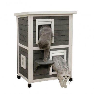 Kerb ECO CAT HOUSE FAMILY namelis katėms 2