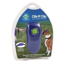 PET SAFE Clik-R™ Clip Pet Clicker klikeris šunų dresūrai