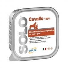 DRN Solo Cavallo paštetas šunims ir katėms su arkliena