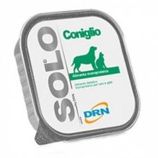 DRN SOLO® CONIGLIO paštetas šunims ir katėms su triušiena
