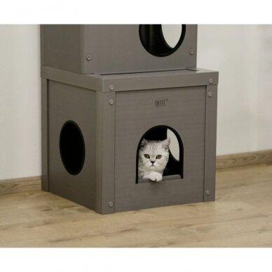 Kerb ECO Cat Play House Alex namelis su drąskykle katėms 3