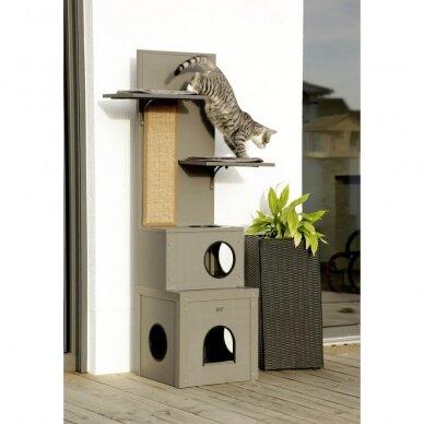 Kerb ECO Cat Play House Alex namelis su drąskykle katėms 7
