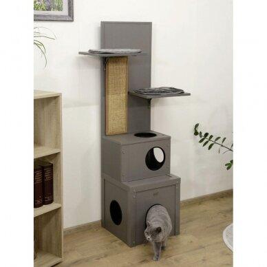 Kerb ECO Cat Play House Alex namelis su drąskykle katėms 8