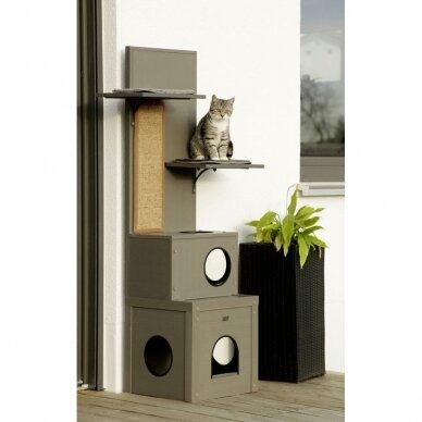 Kerb ECO Cat Play House Alex namelis su drąskykle katėms 9