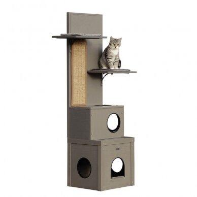 Kerb ECO Cat Play House Alex namelis su drąskykle katėms 2