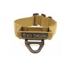 K9Thorn COBRA COLLAR - BRAVO WITH HANDLE antkaklis šunims su rankena