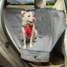 Kurgo Heather Half Dog Hammock pusinis užtiesalas užpakalinei automobilių sėdynei