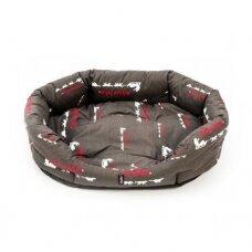 ManMat Dog Bed Comfort - print gultas šunims