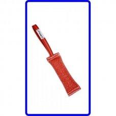 """HST RINGO TUG """" BULL"""" WITH 1 HANDLE sustiprinta kandimo pelė šunų dresūrai su viena rankena"""