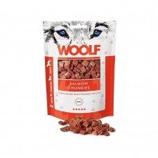 Woolf Salmon chunkies 100 g lašišos skanėstai šunims ir katėms